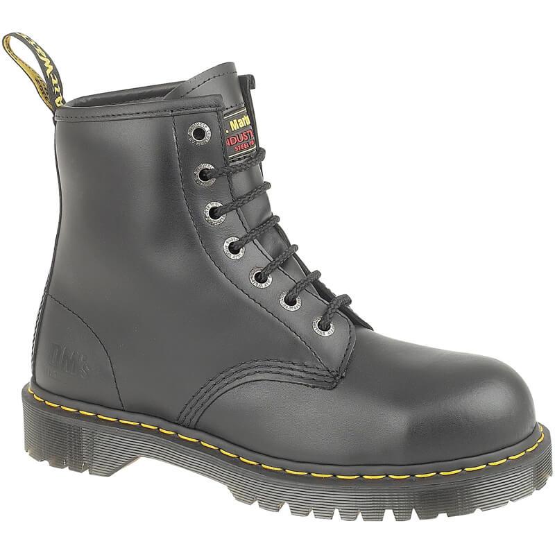 Dr Martens Icon 7B10 SSF Z-Welt Black Unisex Safety Boot