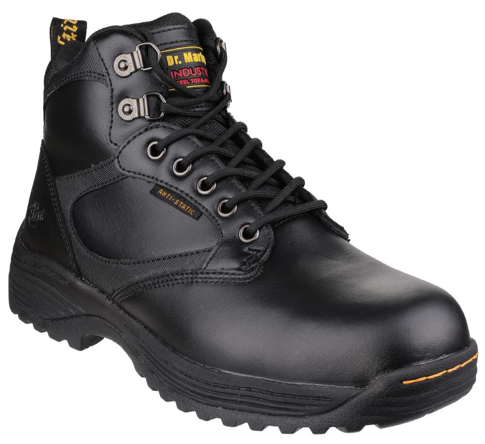 Dr Martens Drax FS205 Anti-static Slip-resistant Industrial Safety Boot Black
