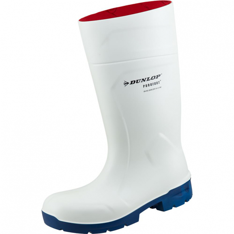Dunlop Purofort FoodPro Multigrip CA61131 Safety Wellington - White