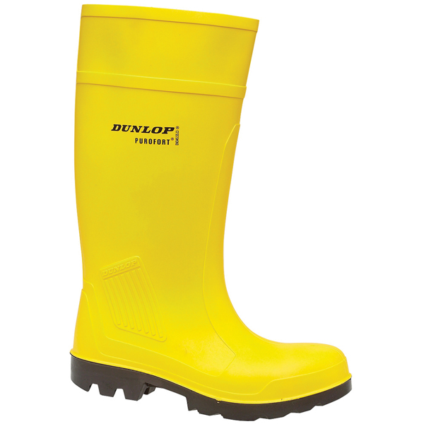 Dunlop Purofort Toe & Midsole Protection C462241 PU Safety Wellingtons