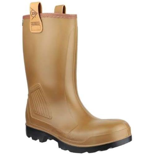 Dunlop Purofort Waterproof Fur Lined Steel Toe Cap & Midsole C462743 Rig-Air S5 Rigger Boot