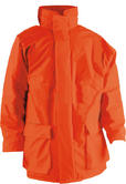 Monarch AO-30 FR Hi Viz Waterproof Flame Retardant Parka Antistatic Jacket