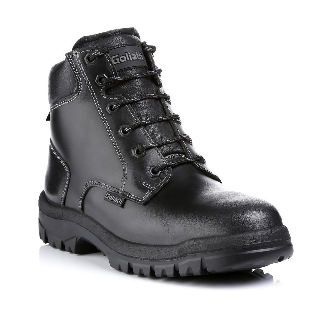 Goliath Groundmaster Slip Resistant Antistatic Safety Boot SDR10SI - Black