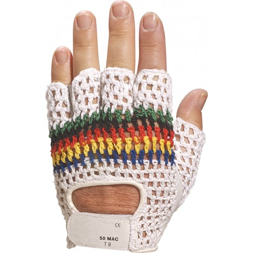 Venitex 50Mac Leather Fingerless Glove