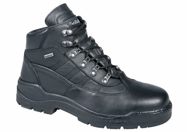 Goliath GTX424 Full Grain Leather Safety Boots - Black