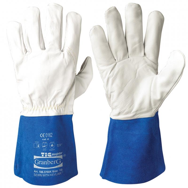 Granberg 106.3700K Argon Goatskin Heat Resistant TIG Welding Gloves