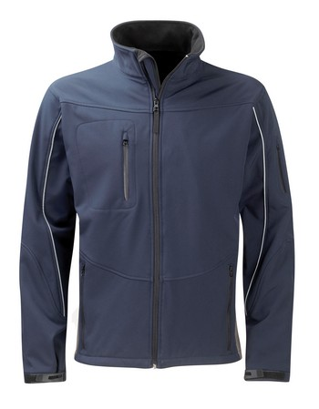 Orbit SS3L3 Womens Amethyst Navy Softshell Jacket