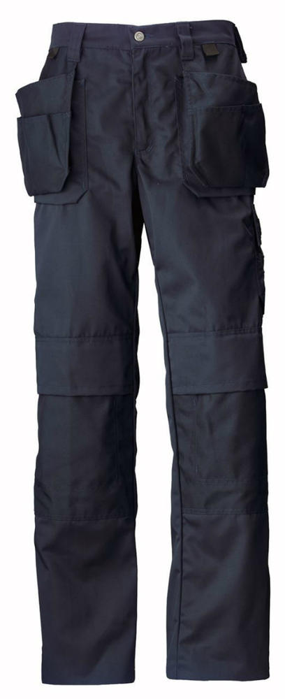 Helly Hansen Ashford 76438 Knee Pad Work Trousers Navy, Size - Small