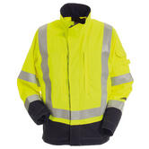 Tranemo 5830 81 High Visibility Arc Flash Protection Flame Retardant Jacket, Size - Large