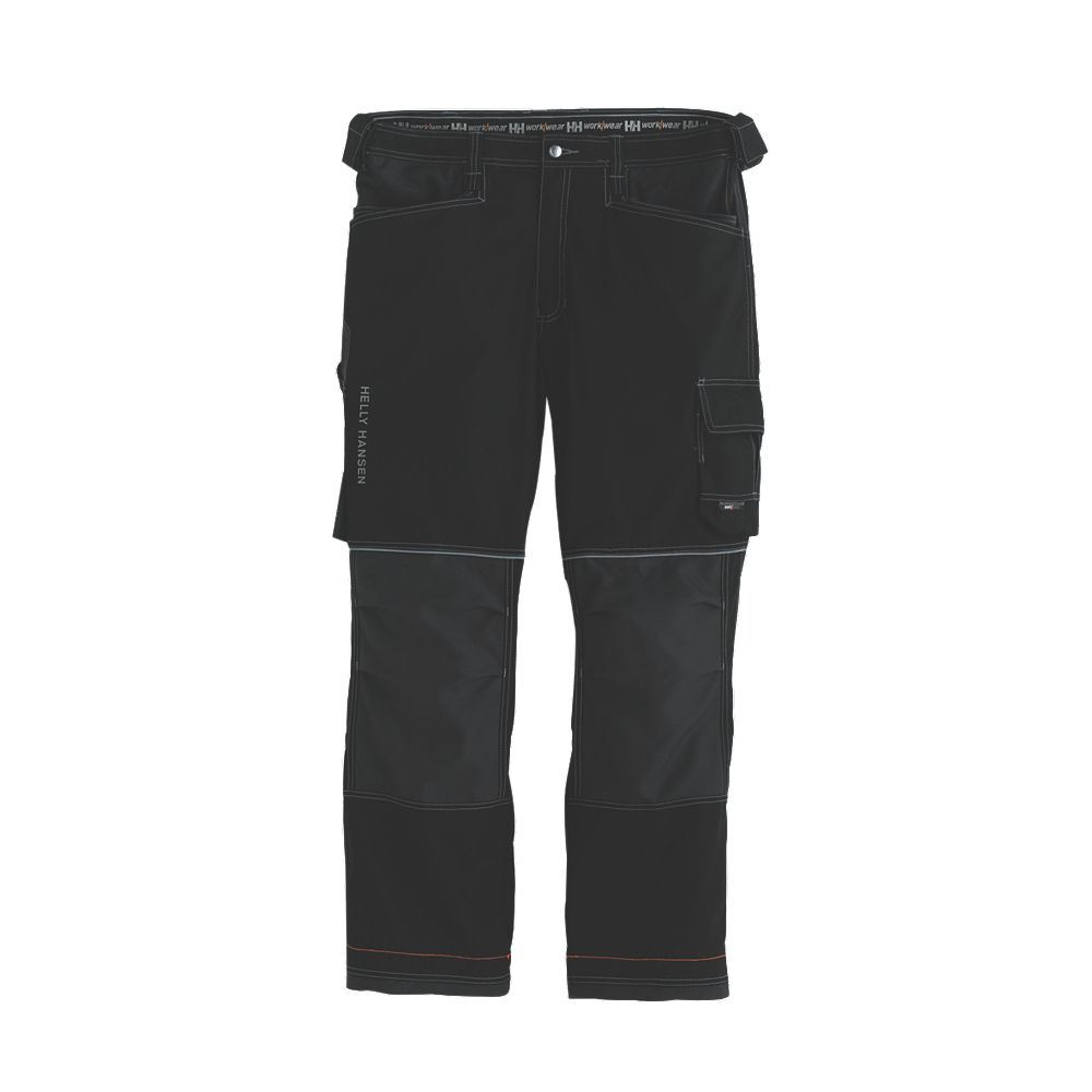Helly Hansen Chelsea Construction Trousers 76441 Black/Charcoal Large