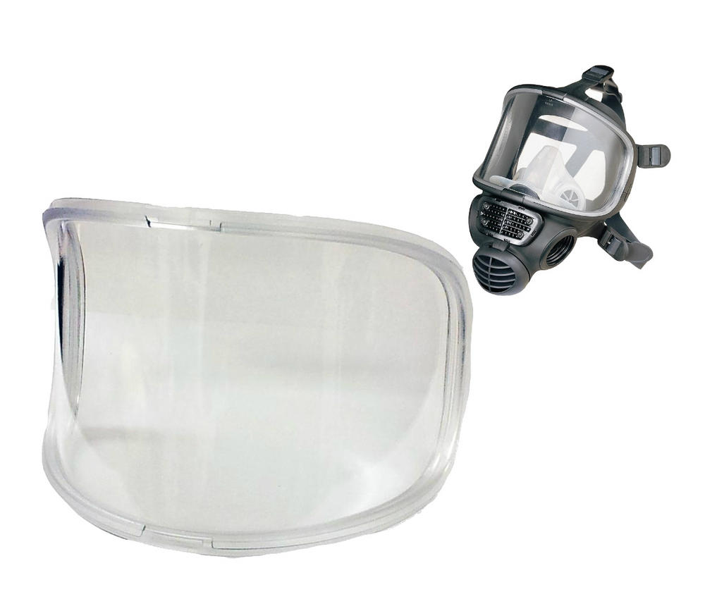 Scott Safety 5512795 HC Polycarbonate HARD Coated Replacement Visor for PROMASK
