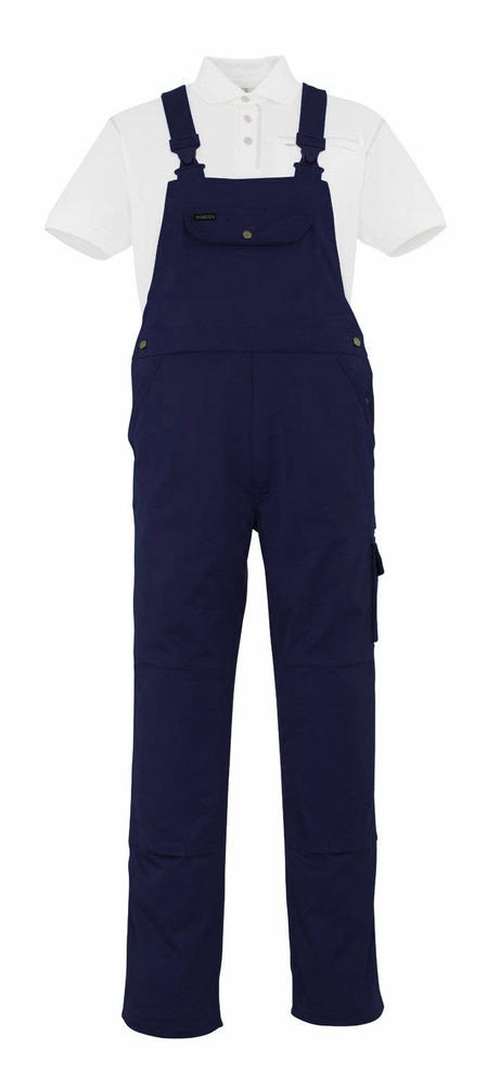 Mascot Darwin 00269 Bib & Brace Work Polycotton Trousers with Knee pad pockets