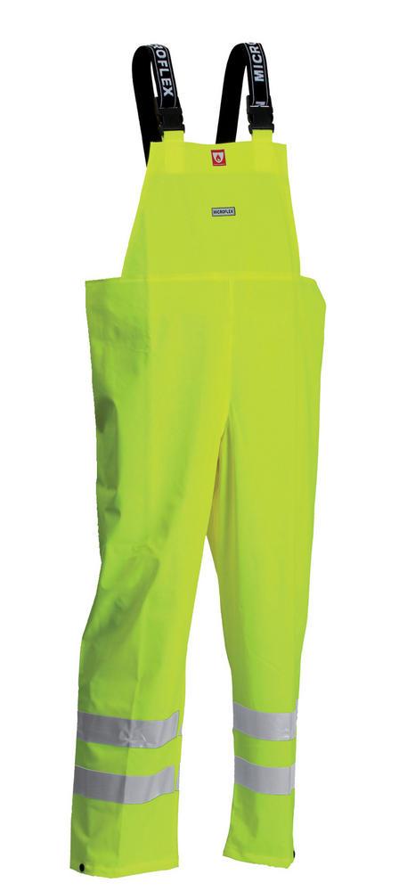 Lyngsoe ARC-LR4059 Men Flame-Retardant High-Visibility Bib&Brace Waterproof Trousers