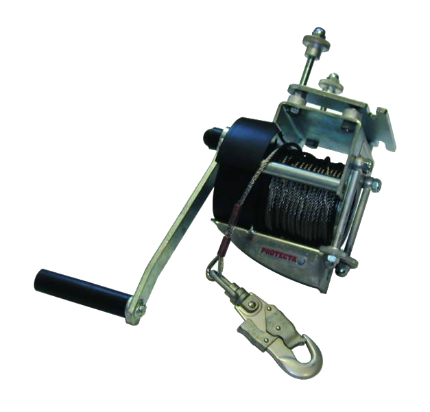 Capital Safety Protecta Winch AT200/2 with 20 m Stainless Steel Cable Lifeline