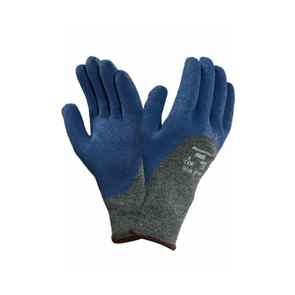 Ansell Powerflex 80-658 Safety Gloves Latex Coated Heat & Cut Resistant