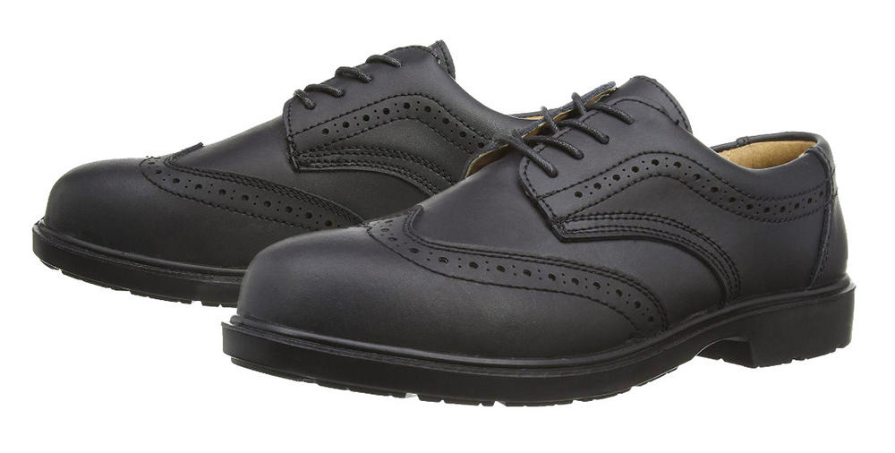 Blackrock SF31 Brogue Black Leather S1-P SRC Safety Shoe
