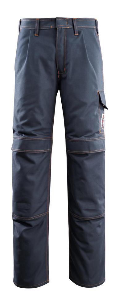 Mascot Bex 06679-135 Flame Retardant PyroPro Kneepad Pockets Dark Navy Work Trousers
