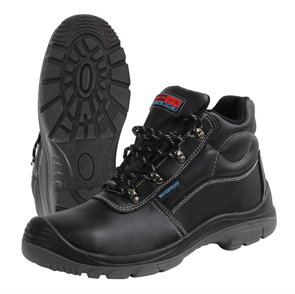 Blackrock Sumatra SF75 Steel Toe Safety S3 WR SRC Waterproof Black Work Hiker Boot