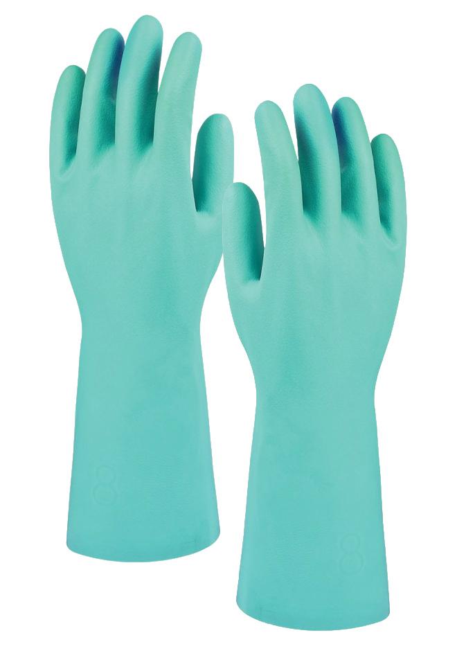 Marigold G915 PVC Nitrile Chemical Resistant Protective Gauntlets