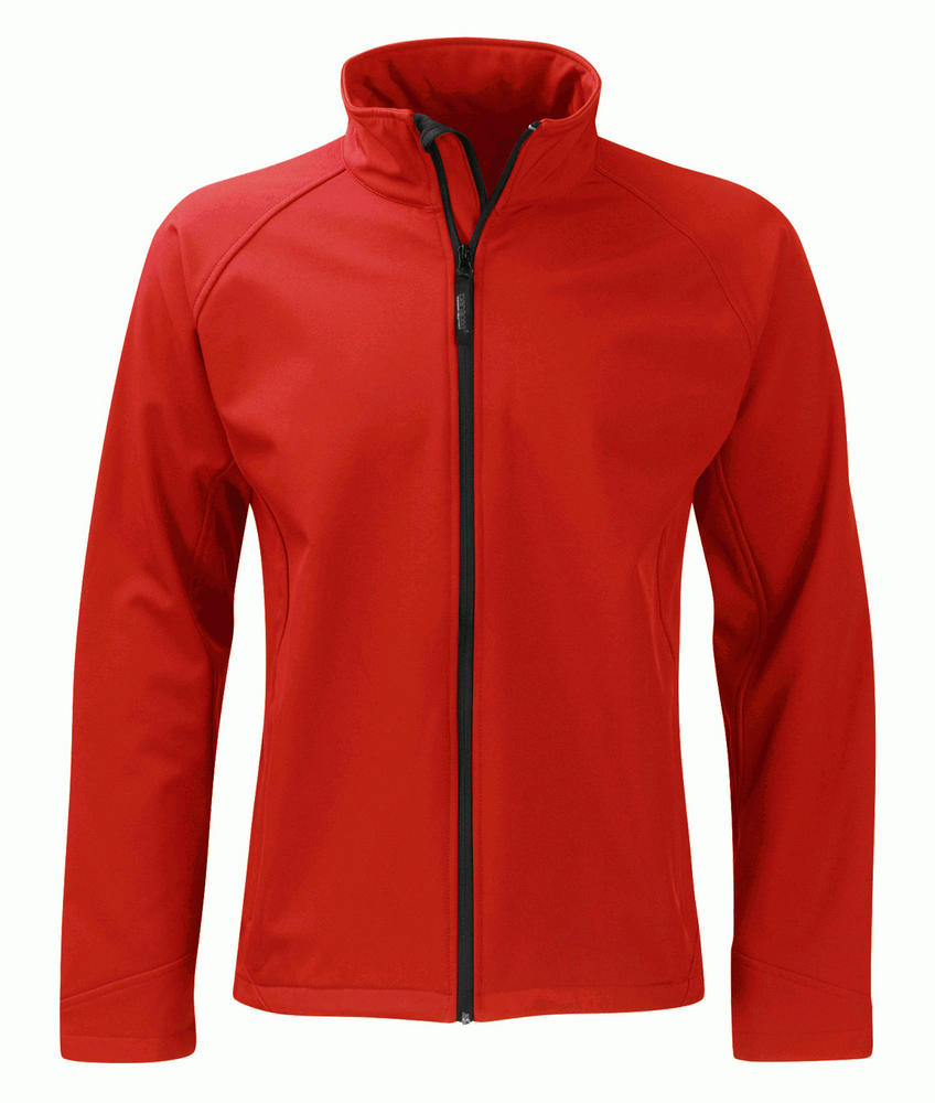 Panacea SS2G1 Flint Fleece 2 Layer Water Repellent Breathable Softshell Jacket Red, Size - Medium