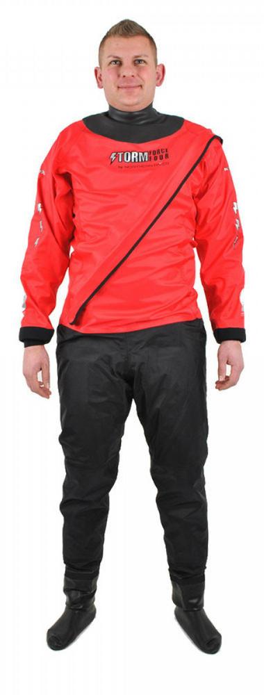 Northern Diver Storm Force 4 Front Entry 210D Watersport Drysuit