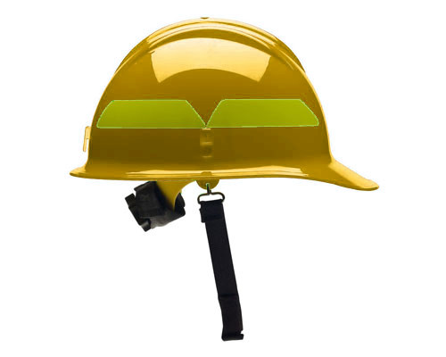 Bullard Wildfire Flame Resistant Safety Helmet Firefighter's Hard Hat Yellow