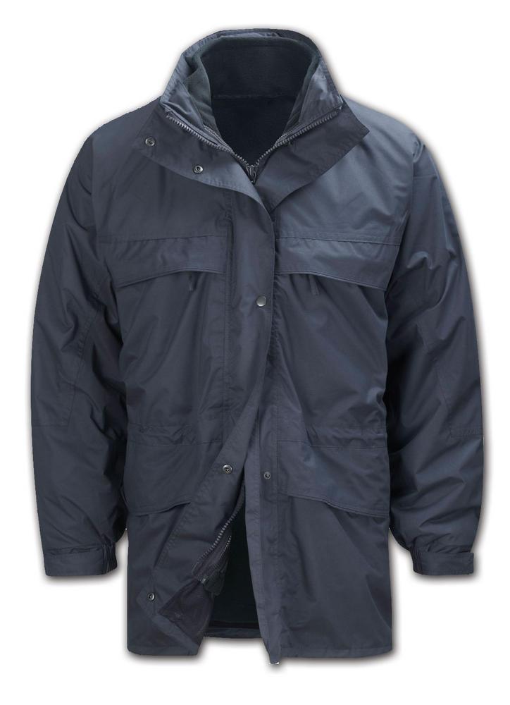 Orbit Hydra-Por Arran JKHP2AR Teflon Waterproof Detachable Fleece Lining 3 In 1 Work Jacket