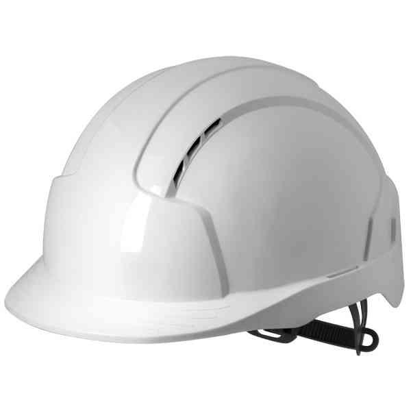 JSP EVOLite® Safety Helmet Slip Ratchet Vented Hard Hat White