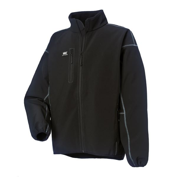 Helly Hansen Madrid Softshell Multi-Pocket Fleece Jacket 74002 Black