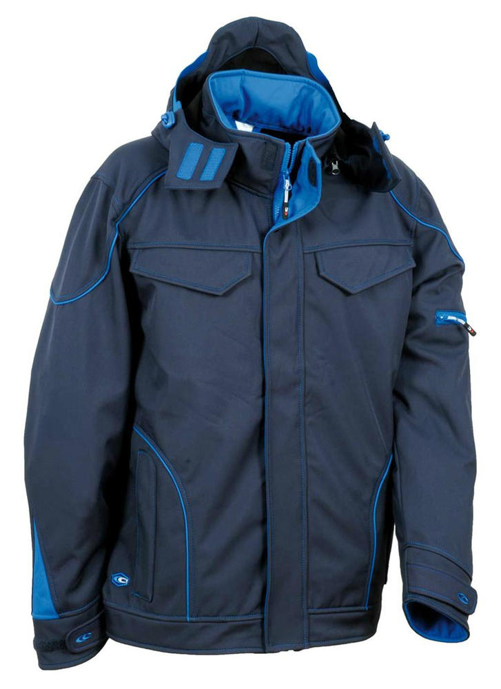 Cofra V415 Teka Water Resistant WindProof Dual Tone Winter Softshell Jacket