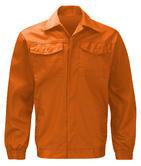 Orbit International PC205J Polycotton Driver Style Orange Work Jacket, Size - Large