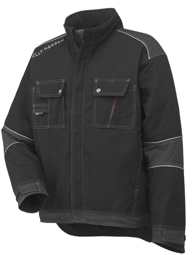 Helly Hansen 76041 Chelsea Lined Cold Protection Two Tones Pilot Jacket, Size - Large