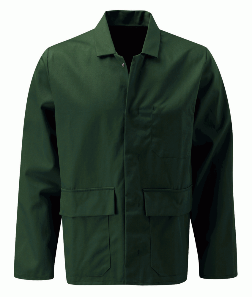 Orbit International PLJ Centaur Men FR Jacket Flame Retardant Green, Size - Large