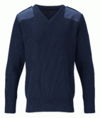 Orbit International CWSJ1 Men Knitted Jumper Security Uniforms Navy, Size - XL