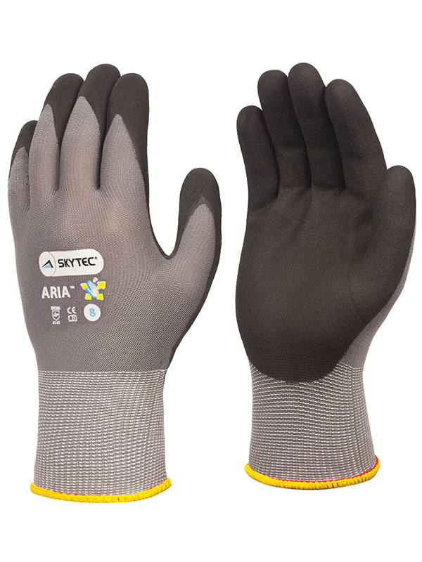 Skytec Aria General Handling Palm Coated Gloves Sky49