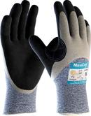 ATG MaxiCut Oil Grip 34-505 Cut-5 Resistant Nitrile Palm Coated Work Gloves