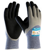 ATG MaxiCut Oil Grip 34-505 Cut-5 Resistant Nitrile Palm Coated Work Gloves