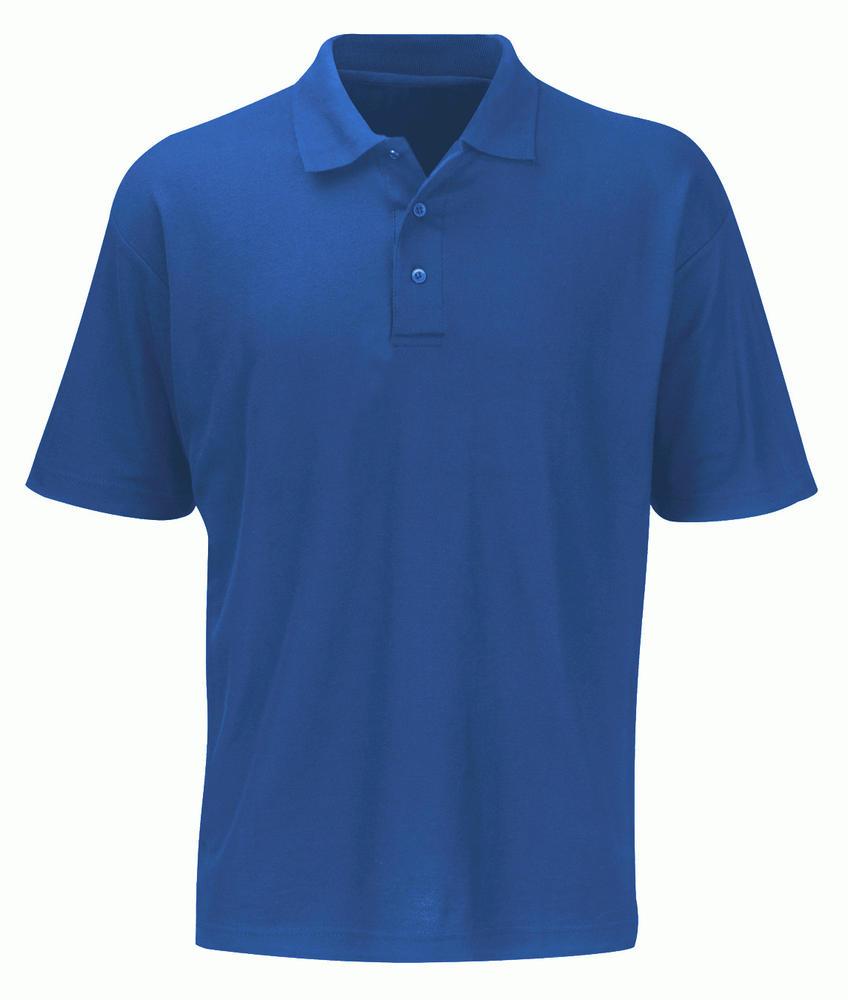 Orbit International PS180 Shispar Men Polo Shirt Short Sleeve Royal Blue