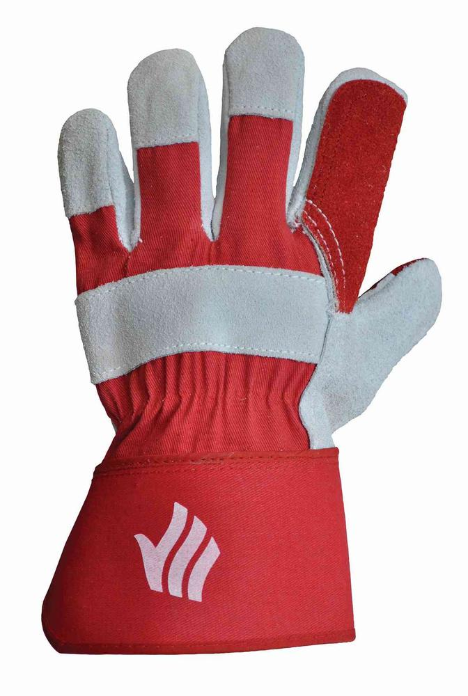 Polyco LR143DP Rigmaster Double Palm Coat Work Gloves, Size - 9