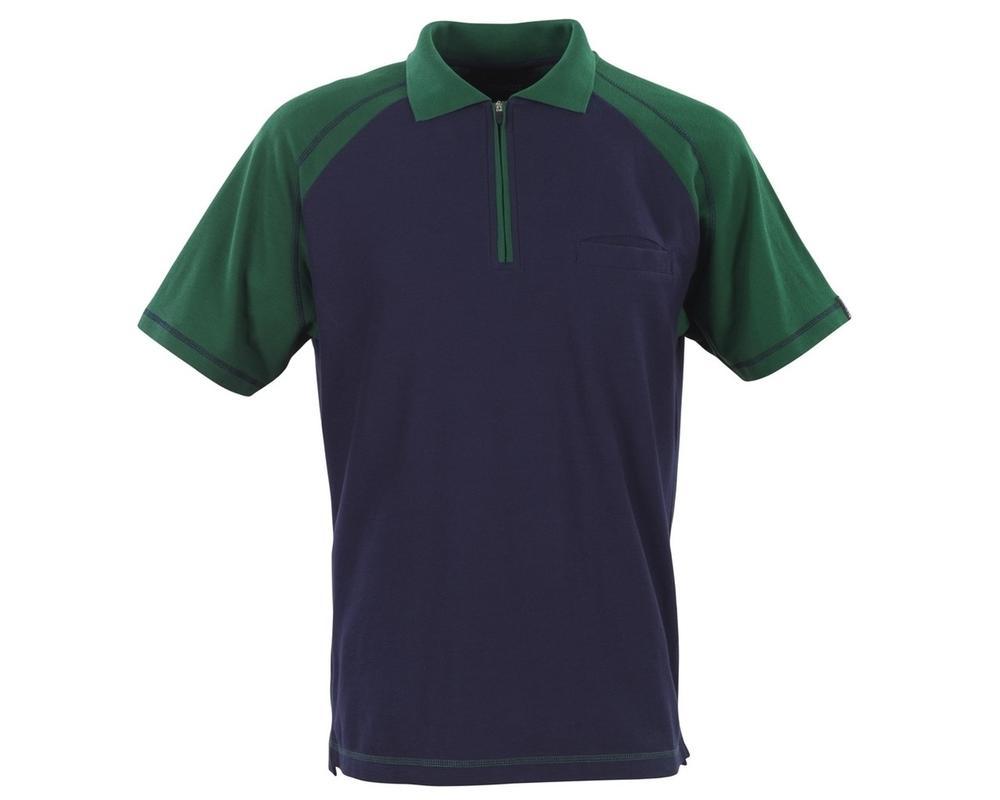 Mascot 50302-260-13 Bianco Zip Neck Polo Shirt
