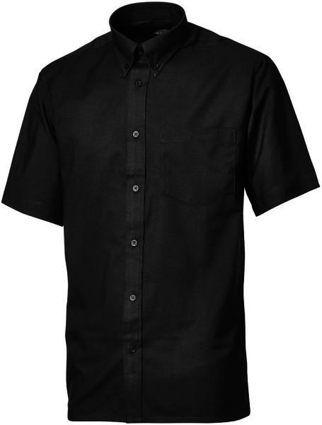 "Dickies SH58150 Men Shirt Short Sleeve Button Down Black, Size - 16"""