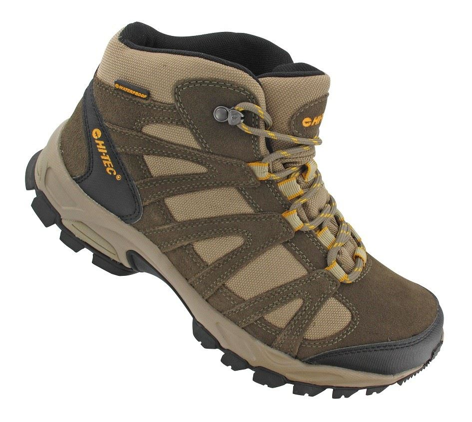 Hi-Tec Men's Waterproof Men's Walking Boot Brown