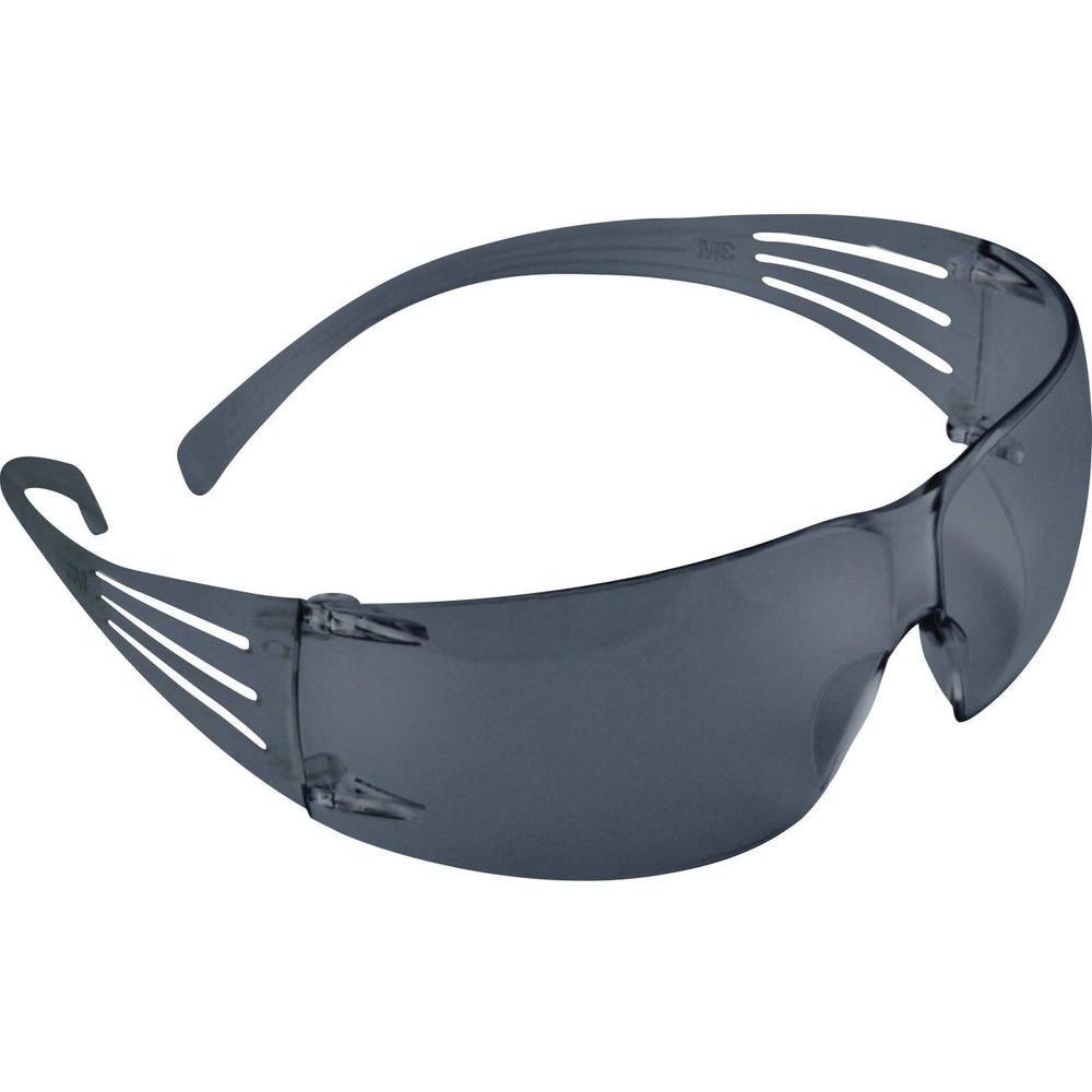 3M SecureFit SF202AF Self-adjusting Anti-fog Gray Lens Safety Glasses