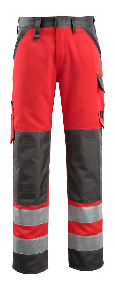 Mascot 15979 Maitland Kneepad Pocket Hi Vis Work Trousers, Size - 32""