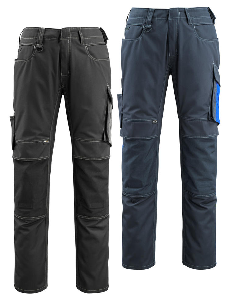 Mascot 12679-442 Mannheim Kneepad Pocket Ergonomic fit Work Trousers