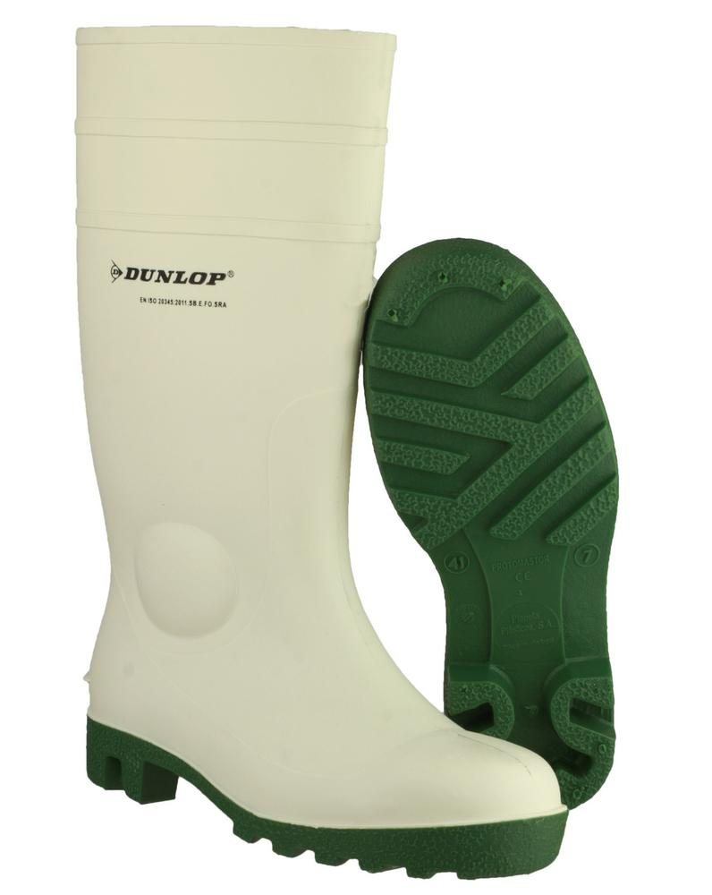 Dunlop Protomastor Safety 171BV Toe Protection Wellingtons Boots - White