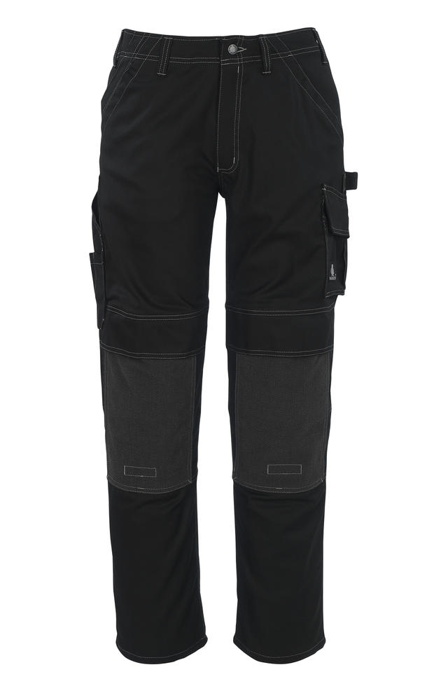 MASCOT Lerida Kevlar Kneepad Pockets High Durability Black Work Trousers 05079-010, Size32