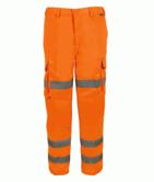 Orbit International PCOCT3R Zeus Railway Hi Vis Cargo Trousers