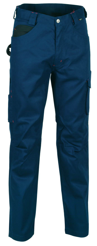 Cofra Walklander Men Navy Work Trousers, Size - 37