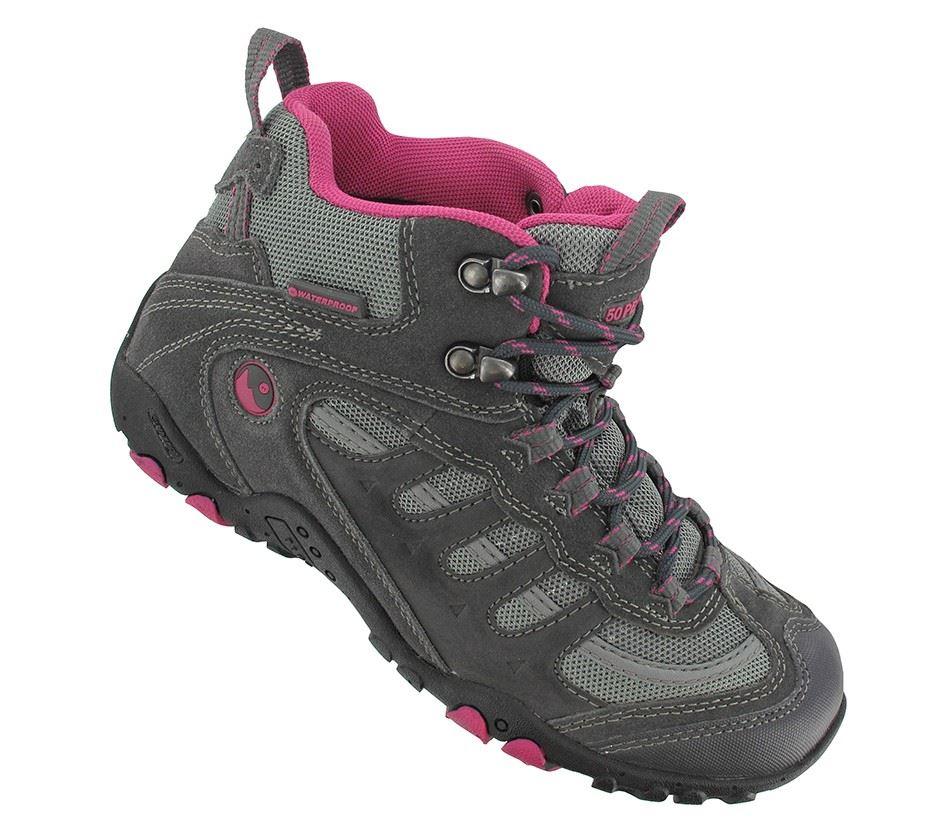 Hi-Tec Penrith Mid Womens Waterproof Hiker Walking Boot